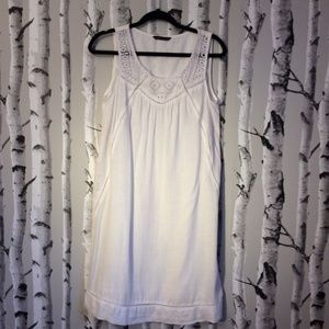 M&S Collection White Cotton Nightgown